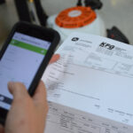Traction Capturing Receipts with Phone