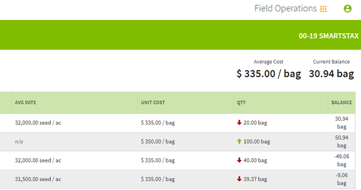 Traction Field Operations allows you to manage supply inventories.
