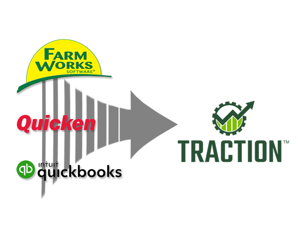 Traction Transition Services help you transfer your farm data to Traction.