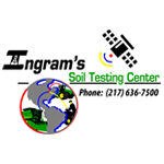 Traction agronomy software is compatible with Ingram's Soil Testing Center.