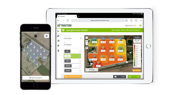 Traction agronomy management is built for service providers.