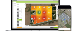 Traction agronomy software enables soil sampling and nutrient management.